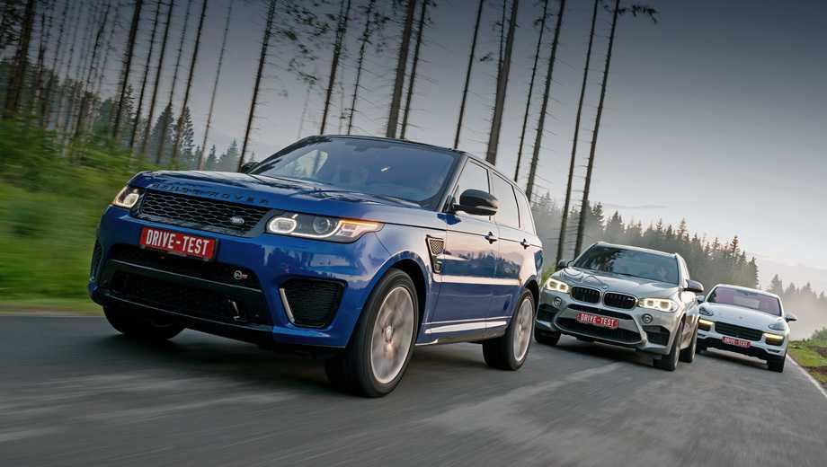 Опрос: Range Rover или BMW X5!!!??? - Кайен клуб | Клуб владельцев Porsche Cayenne