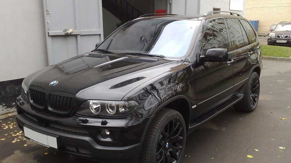 BMW X5 (E53) характеристики, двигатели, рестайлинг и комплектации