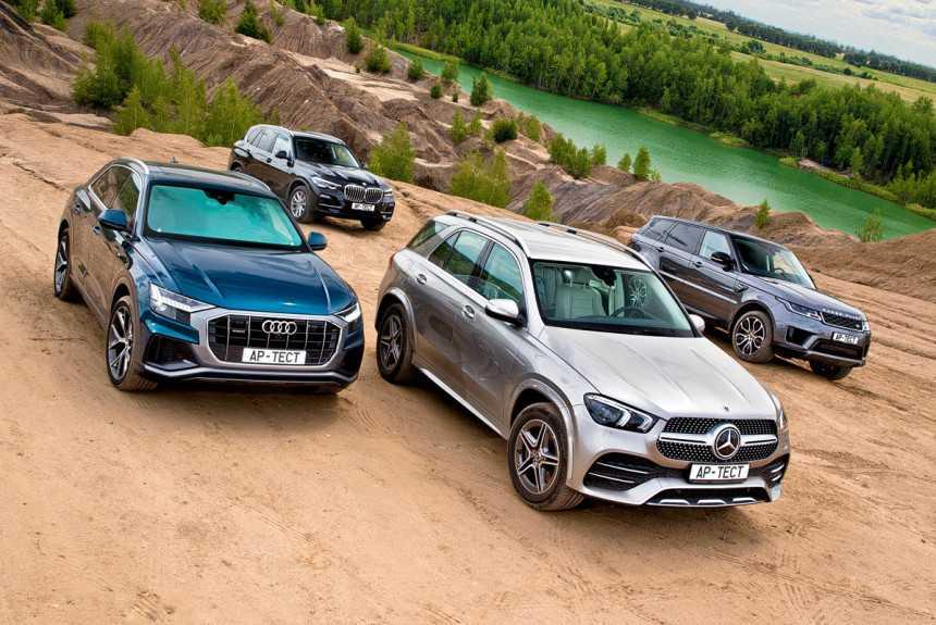 Mercedes GLE vs BMW X5: краткое сравнение бок о бок