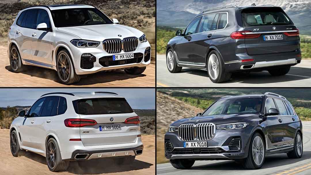 BMW X7 и BMW X5: различия в сравнении — Строительные СНИПы, ГОСТы, сметы, ЕНиР,