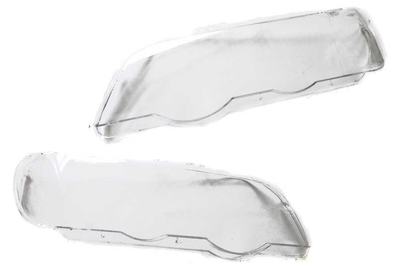 Новые стекла фар БМВ Е53 дорестайлинг 1999-2003 г.в.• Купить