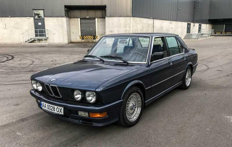 BMW 535i E28 Акула: таких уже не делают