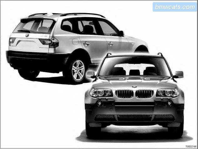 BMW X3 с 2003 года, как читать схемы инструкция онлайн