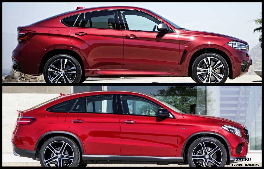 GLE купе ответ Mercedes конкуренту BMW X6: Официальные фотографии