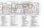 BMW > BMW 316i, 318i, 318is, 318td, 318tds, 320i, 325i, 325tds (1990-1998) Руководство по ремонту > Электрооборудование > Проверка и ремонт > Легенда схемы электрооборудования автомобилей BMW серии 3-Е36 с двигателем M50