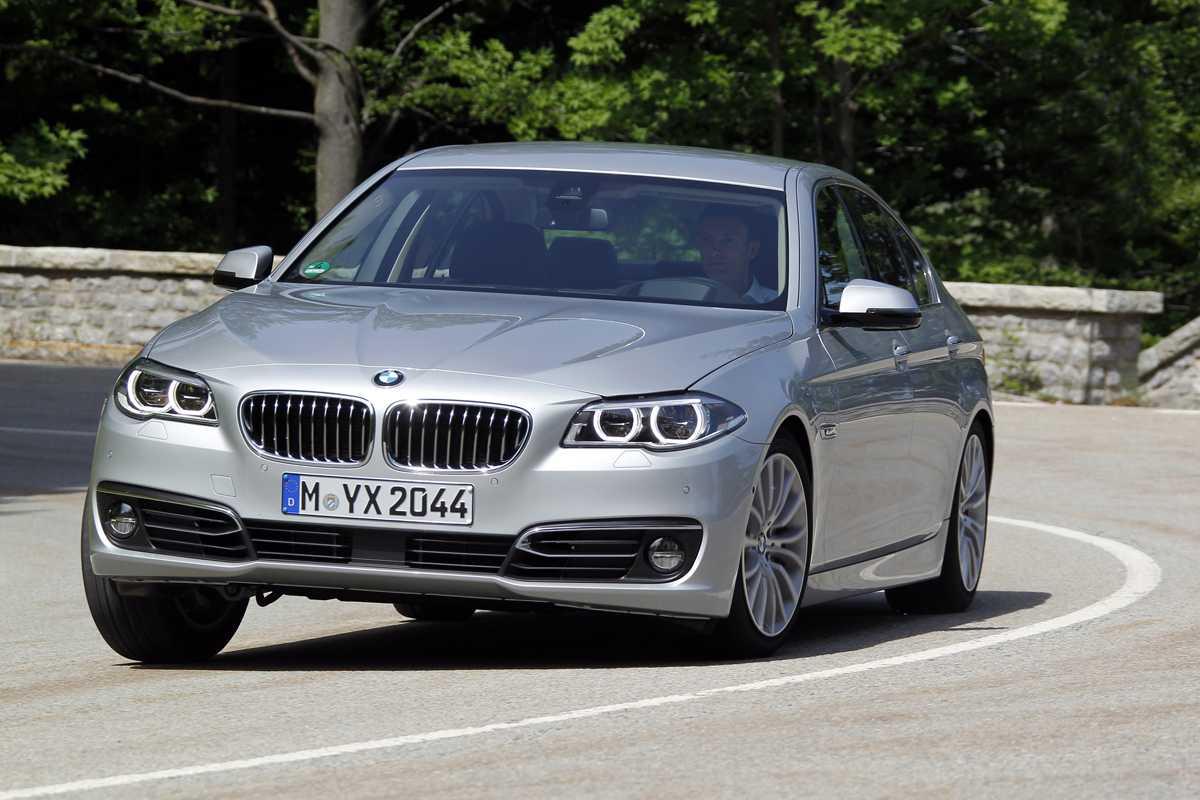 BMW 5 Series - лучшие представительские автомобили 2015 года | Тестовые сравнения