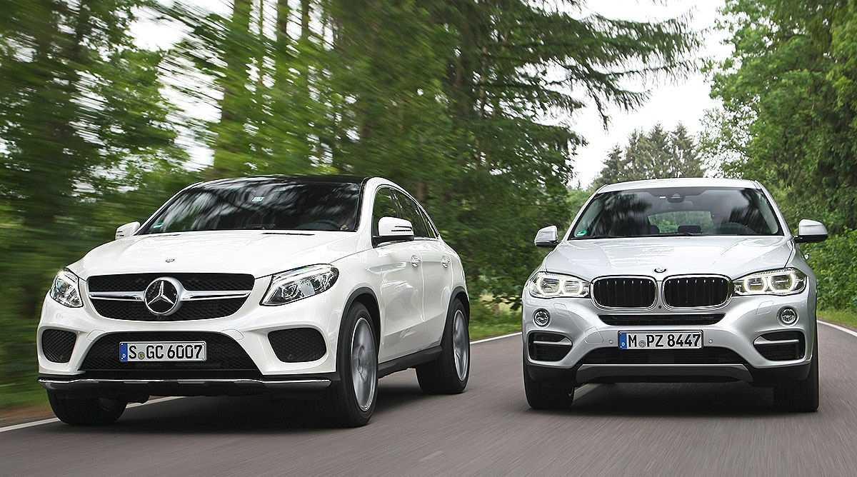 «Мерседес» назвал российскую стоимость конкурента BMW X6 — Motor