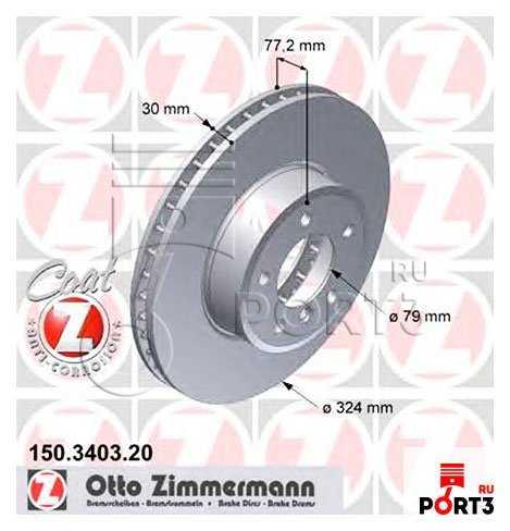Купить тормозные диски для BMW 5 (F10).