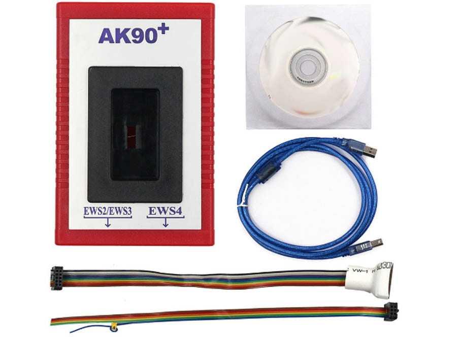 Программирование ключей BMW программатором AK 90  | Двери на замок.