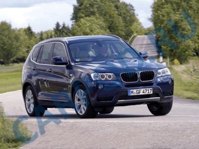 BMW X3   БМВ Х3 с 2003 года, замена предохранителей инструкция онлайн