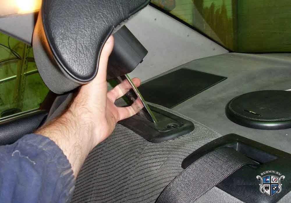 BMW 5 (E34) | Снятие и установка заднего бампера | БМВ 5