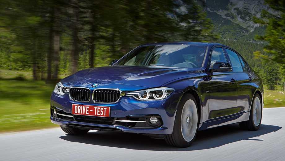 Упираемся вограничитель скорости наобновлённом седане BMW 340i — ДРАЙВ