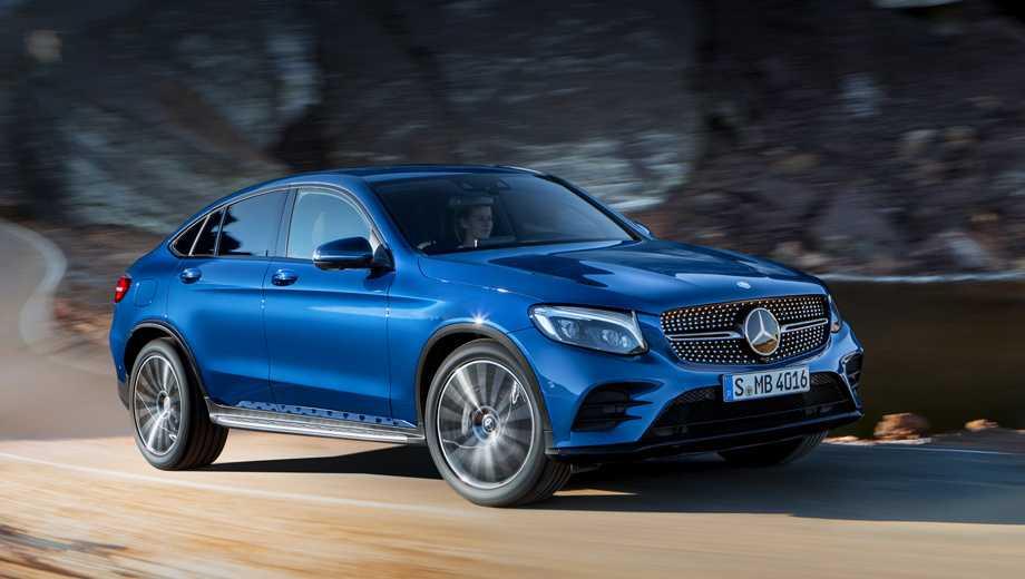 Паркетник Mercedes-Benz GLC Coupe бросил вызов BMW X4 — ДРАЙВ