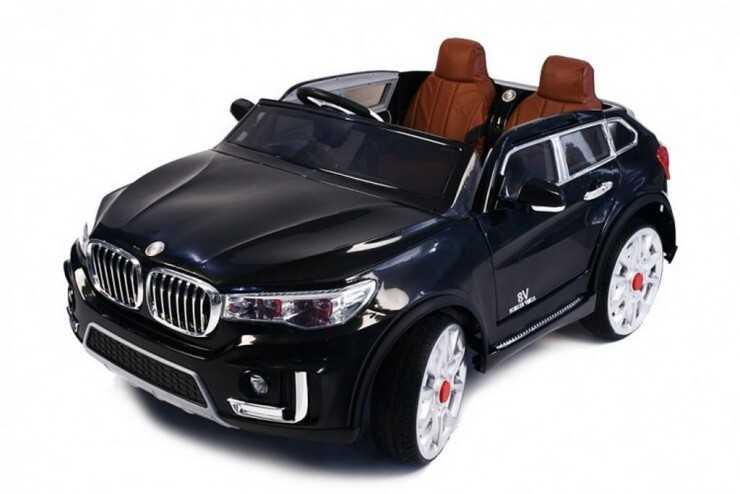 Электромобиль BMW X7 черный (двухместный) Harleybella 8220186A-2R