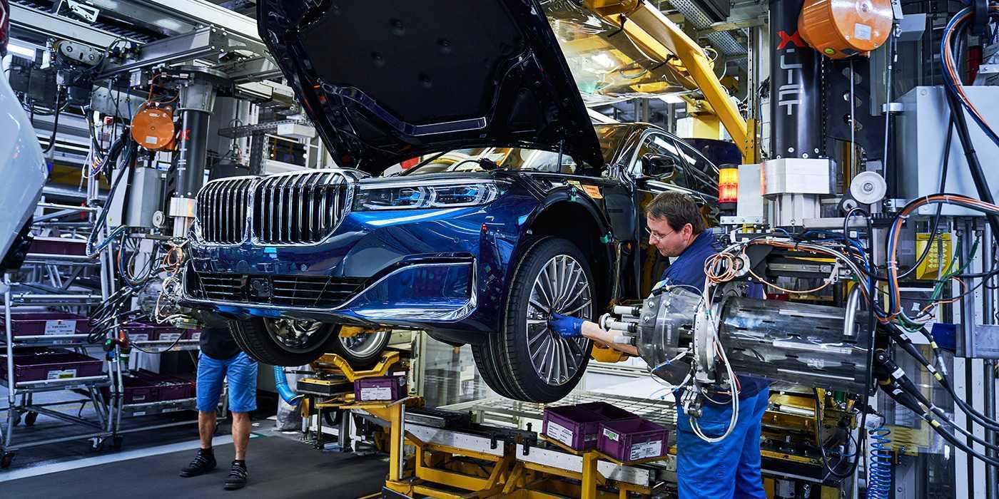 Производство BMW в Германии: особенности и история