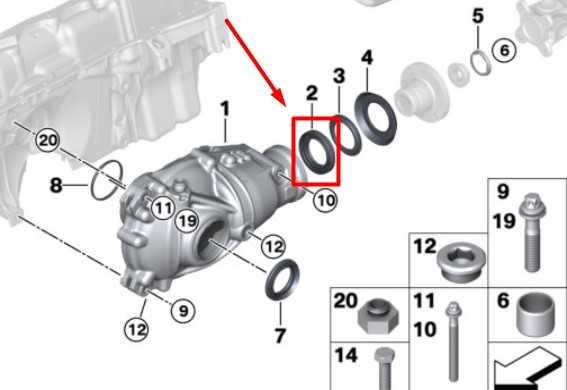 Замена сальника выходного вала заднего редуктора BMW X5 E70