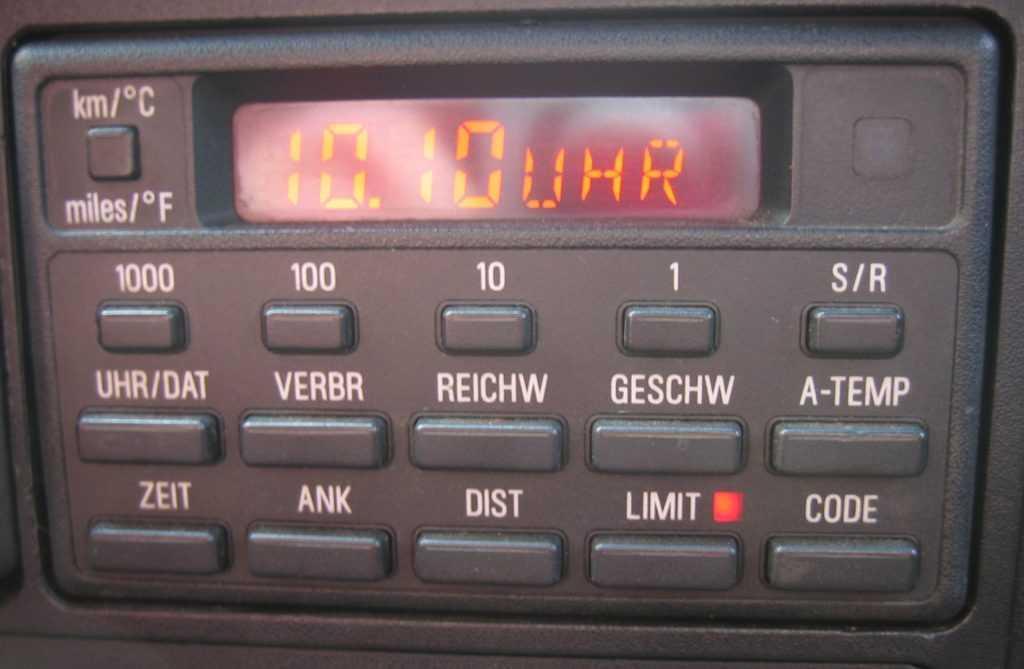 Расшифровка интервалов обслуживания и сообщений на бортовом компьютере автомобиля :: Документация :: BMW 5 серия E34 :: RU BMW