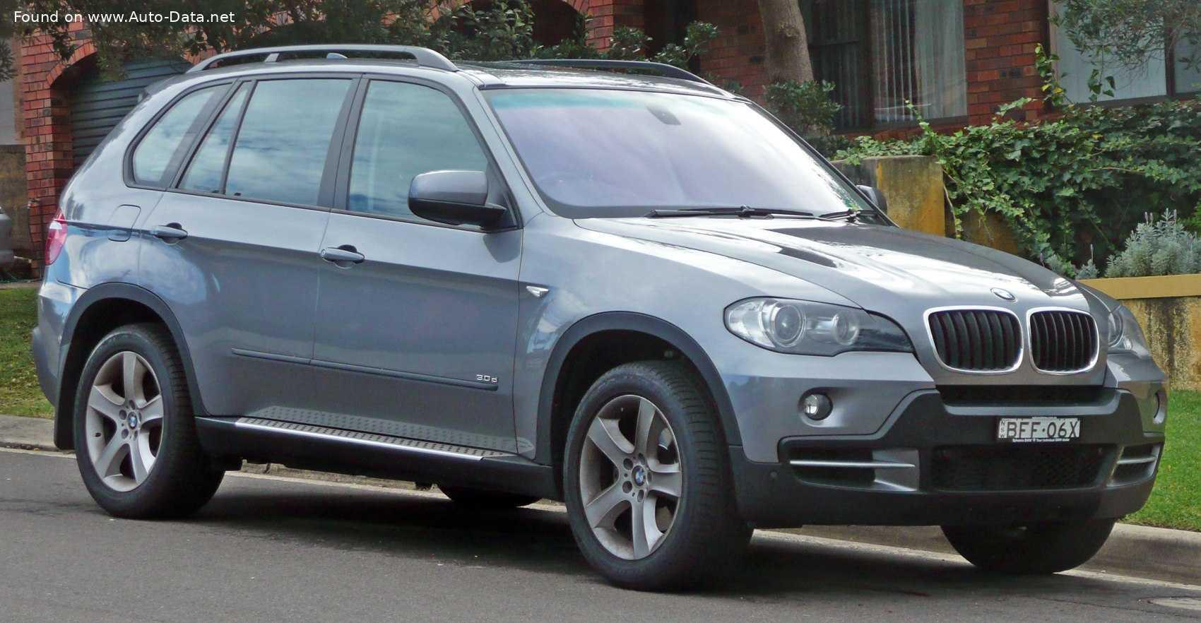 2010 BMW X5 (E70, facelift 2010) 30d (245 лс) xDrive Automatic   Технические характеристики, расход топлива , Габариты