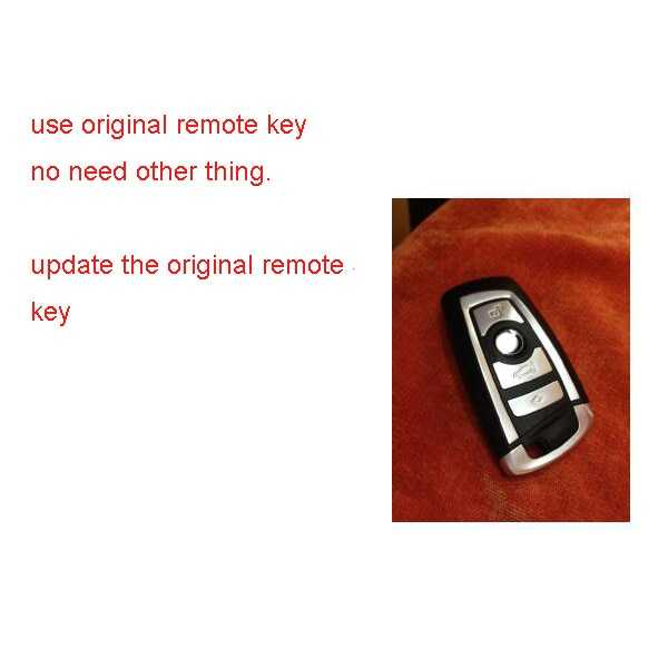 PKE бесключевая Система доступа для BMW F25/F26/(X3/X4) оригинальный дистанционный ключ с 2 ручками для автомобиля, легкая установка|Система запуска без ключа|   | АлиЭкспресс
