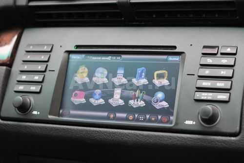 Магнитолы для БМВ X5: штатные на Андроид - инструкция и настройка