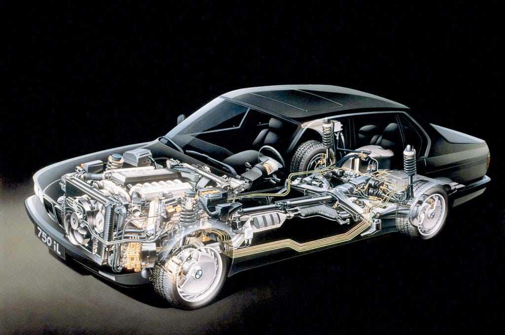 Техническая информация автомобиля BMW 7 | Издательство Монолит