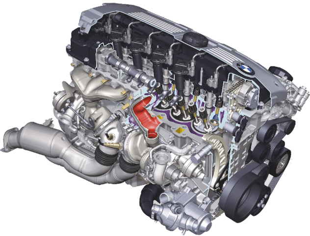 Двигатель BMW N53B25