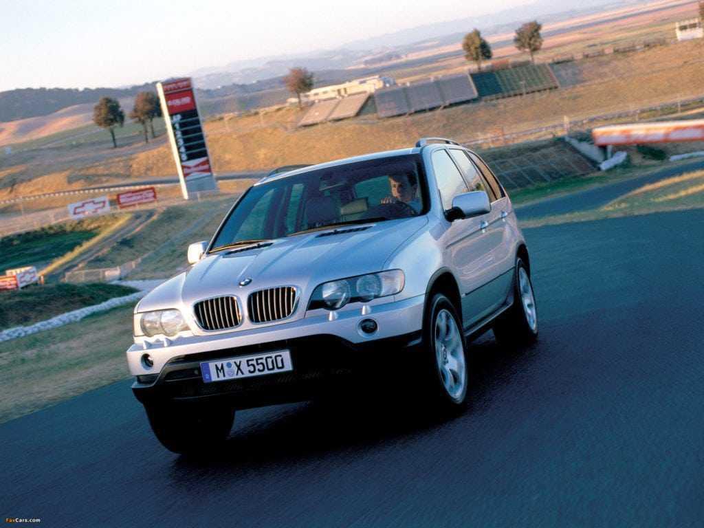 BMW X5 E53 - характеристики - тест-драйв - фото