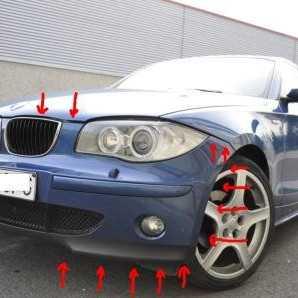Как снять передний бампер BMW X5? (решено) — 1 ответ