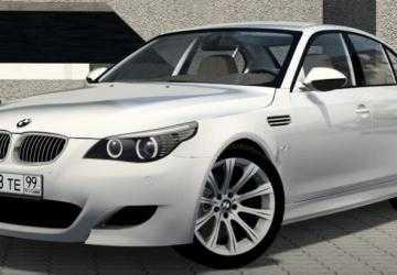 Скачать мод BMW M5 E60 2009 версия 08.07.20 для City Car Driving (v1.5.9.2)