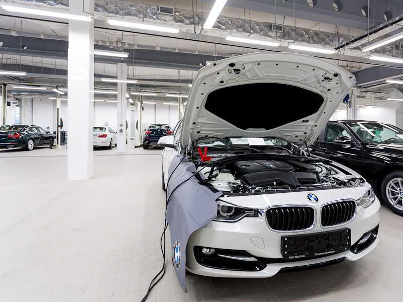 Регистрация замены аккумулятора в системе автомобиля BMW F10