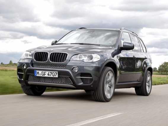 Замена масла в двигателе BMW X5 E70