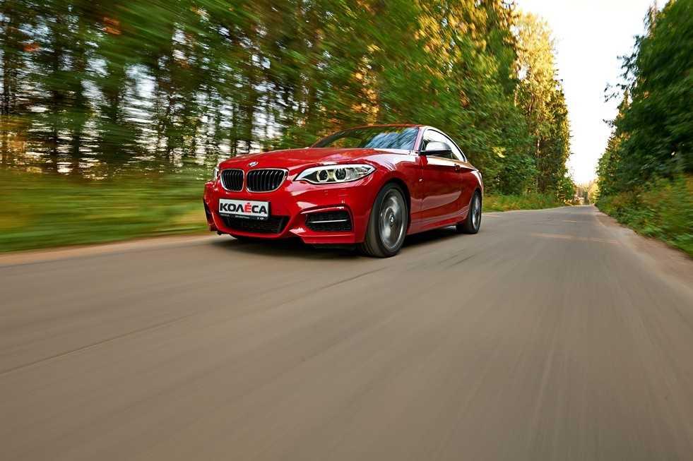 Учимся ездить намощном заднеприводном купе BMW M235i — ДРАЙВ