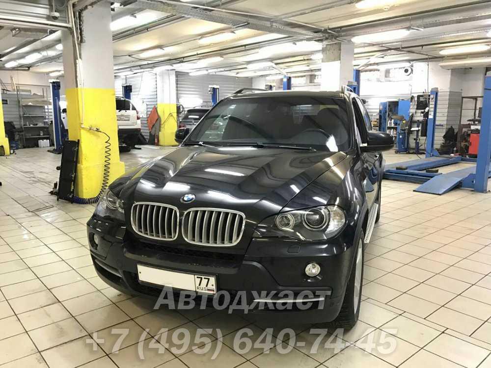Замена стекол фар БМВ Х5 Е70 / BMW X5 E70
