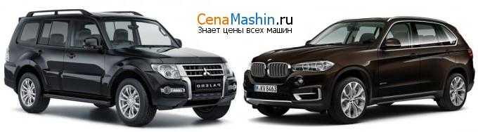 Сравнение автомобилей кроссовер Mitsubishi Pajero Mini II и кроссовер BMW X5 E53
