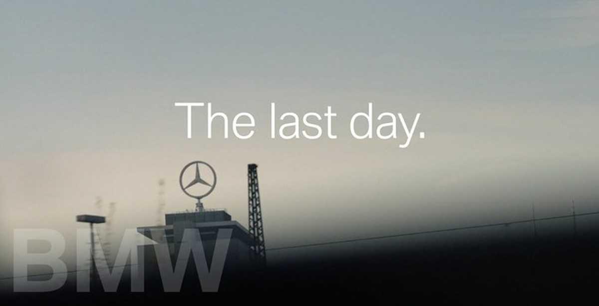 BMW потроллили Mercedes, подарив его директору свой спорткар перед выходом на пенсию и сделав из этого рекламу | Пикабу