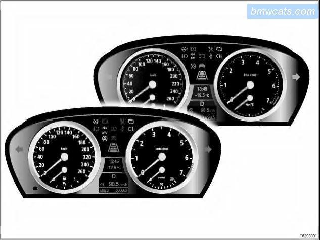 Бортовой компьютер, система самодиагностики Check Control BMW
