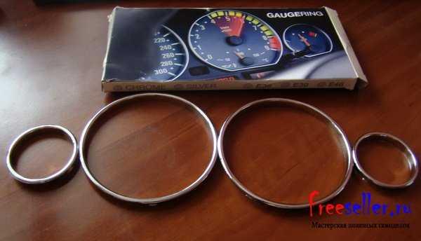 Кольца в приборку BMW E38 — E39 — E53 — BMWcost