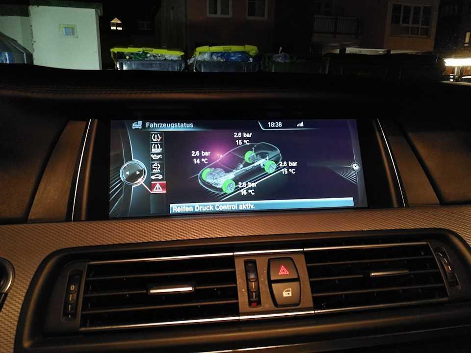 Датчики давления в шинах для BMW 2018
