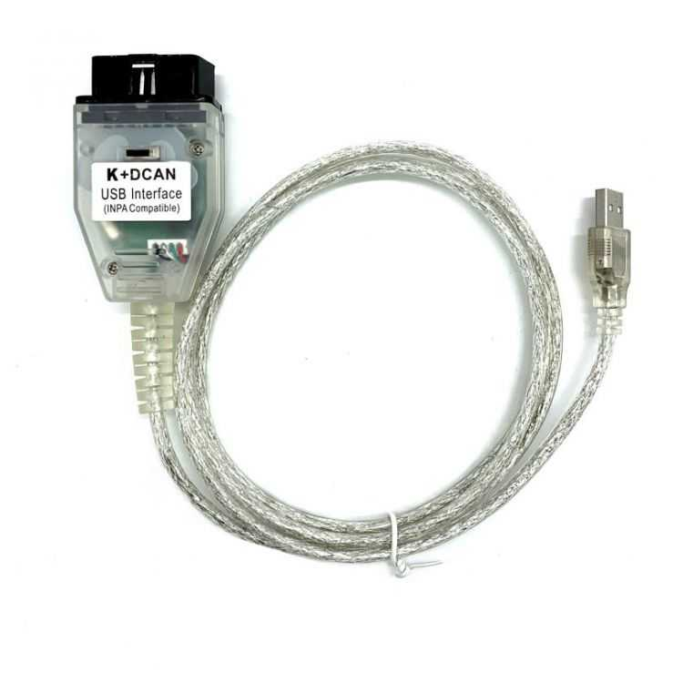 Сканер BMW Inpa K Dcan с переключателем купить в интернет-магазине ELMscan
