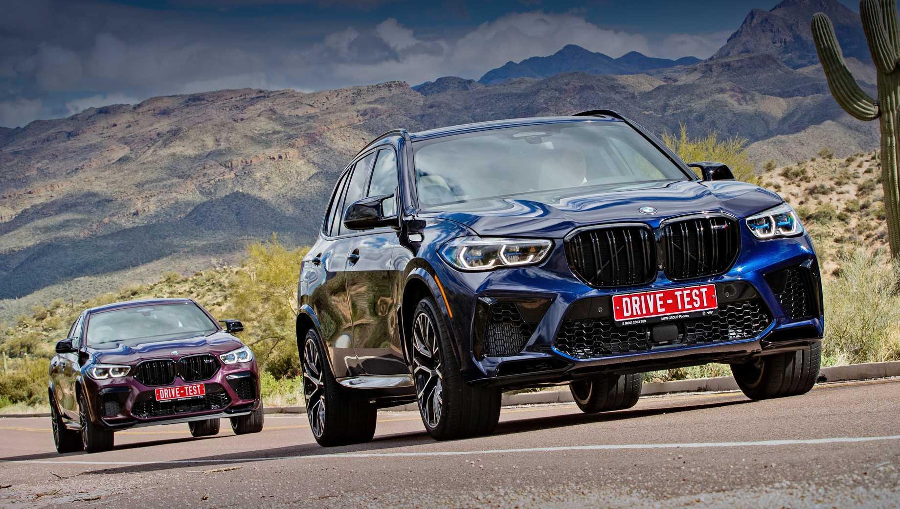 Новый BMW X5M F95 (2019-2020) цена, технические характеристики, фото, видео тест-драйв