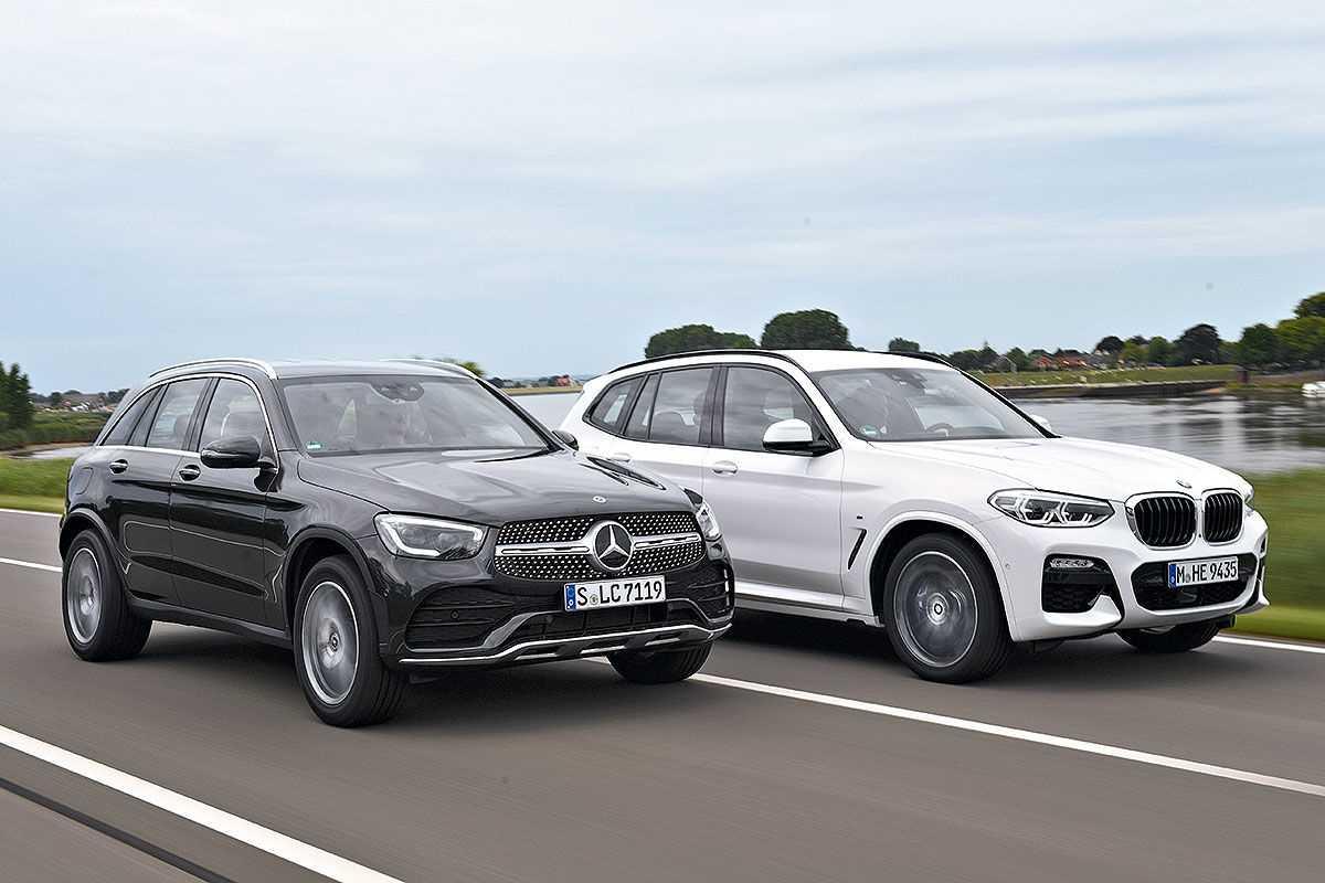 BMW X3 и Mercedes-Benz GLC: какая модель лучше