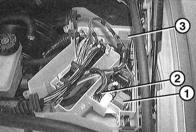 Блок предохранителей BMW 3er E36