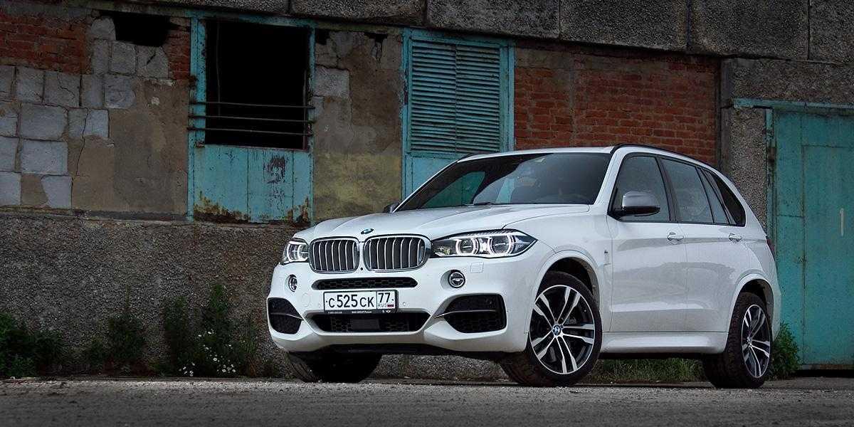 Тест-драйв BMW X5. Обожаема и желанна
