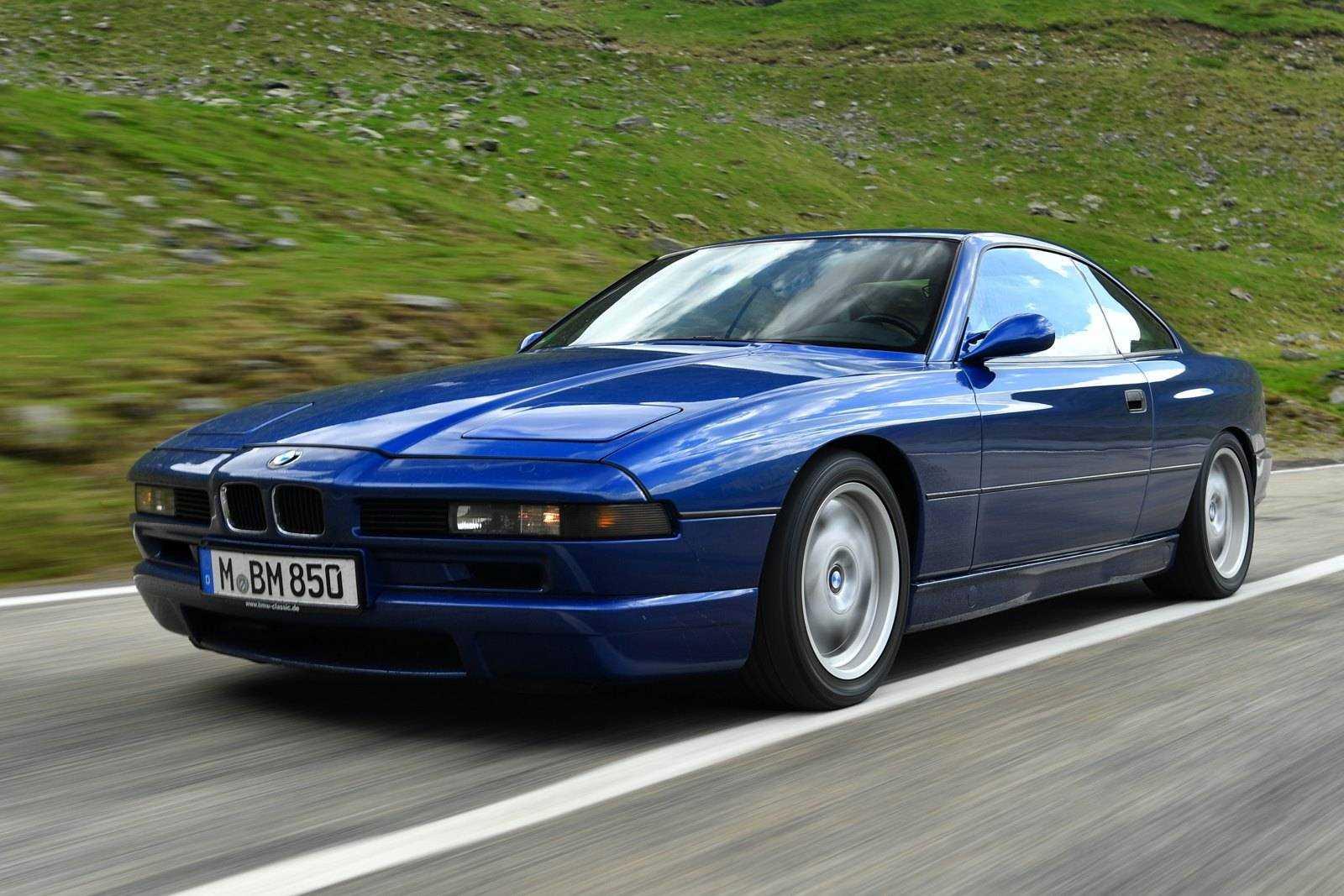 BMW 850i E31 - благородный флагман из 90-х
