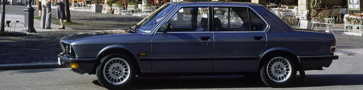 Технические характеристики BMW (БМВ) 5-серия E28 525e 4 дв. седан (E28) 4АКПП 1983-1988 г.
