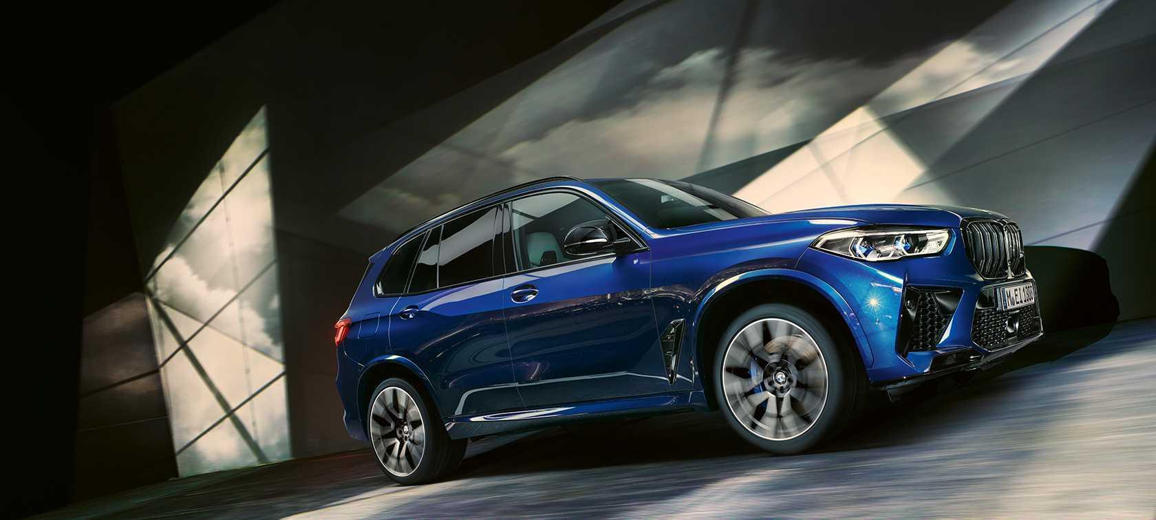 BMW X5 M - описание - характеристика - тест-драйв - фото
