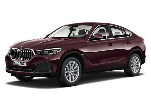 Размеры колес, шин и дисков BMW X6 2020